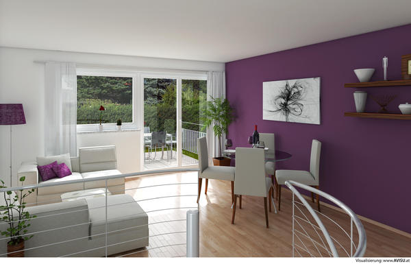 Verkauft: Moderne 3-Raum-Maisonette - Ruhelage Liefering