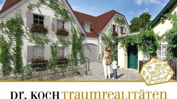 Idyllic Winegrowers' Houses At Painters' Corner In Sievering (Sieveringer Maler