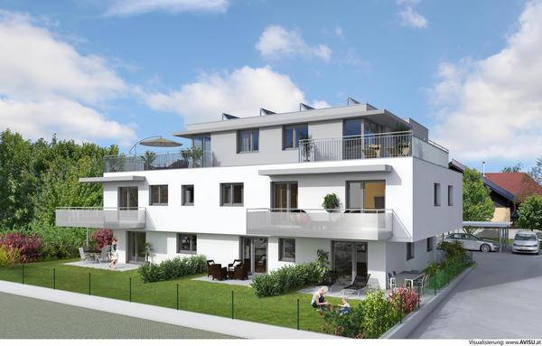 Salzburg Samstraße - 7 moderne Eigentumswohnungen in Ruhelage