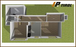 Zwei-Zimmerwohnung Tiefparterre mit Gartennutzung