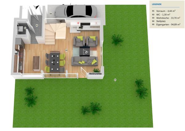 !!!Gediegener Luxus auf 3 Wohnebenen + Dachterrasse und Garten PROVISONSFREI!!!