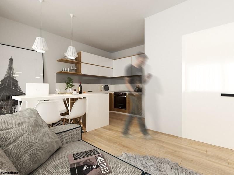 Neubau: Smarte 1-Zimmer Wohnung