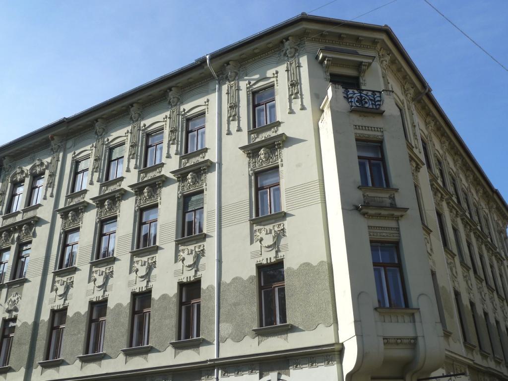 TITELBILD - Jugendstilfassade