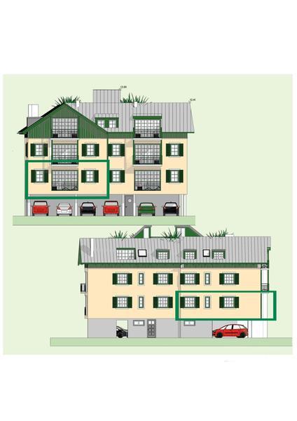 Top2: 3 Zimmerwohnung im Zentrum von Bad Ischl