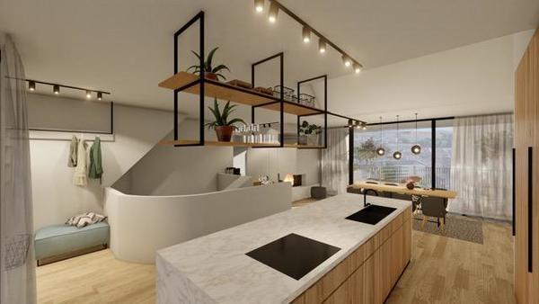 INNENANSICHTEN - Visualisierung Dachgeschoss Ausbau