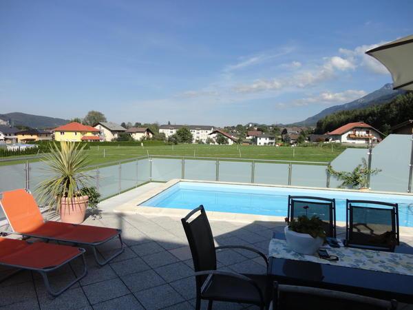 Exklusives Wohnhaus mit Pool in Riegersdorf
