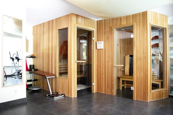INNENANSICHTEN - Sauna und Infrarotkabine