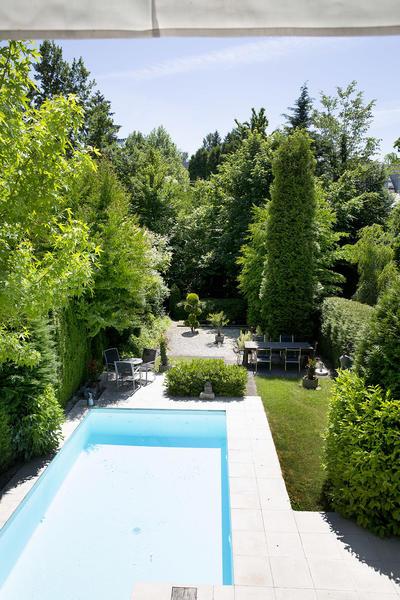AUSSENANSICHTEN - Blick von Terrasse