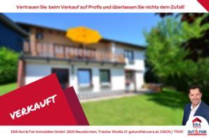Schmuckes Einfamilienhaus in grüner Siedlungslage - Berndorf/Bez.Baden