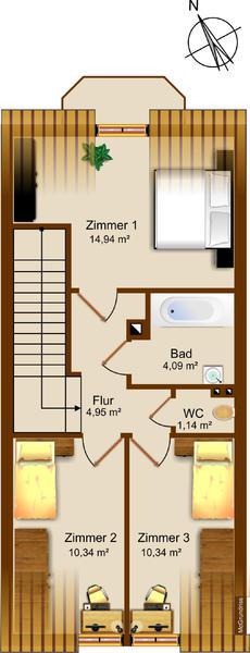 INNENANSICHTEN - Obergeschoss