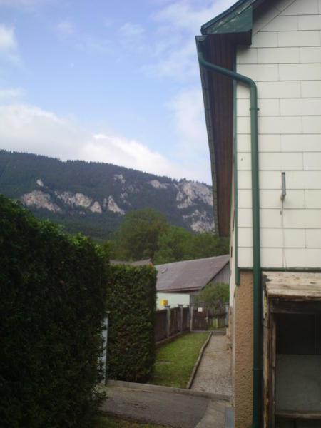 AUSSENANSICHTEN - Haus Grünbach mit Blick auf Hohe Wand