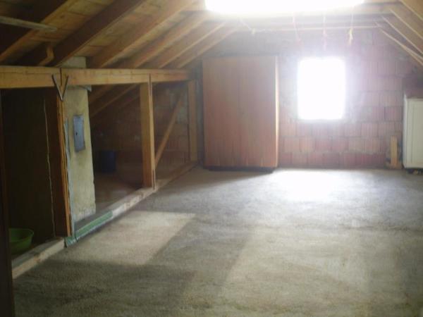 INNENANSICHTEN - Rohdachboden mit 2,5 Zimmern und Blick auf Schneeberg