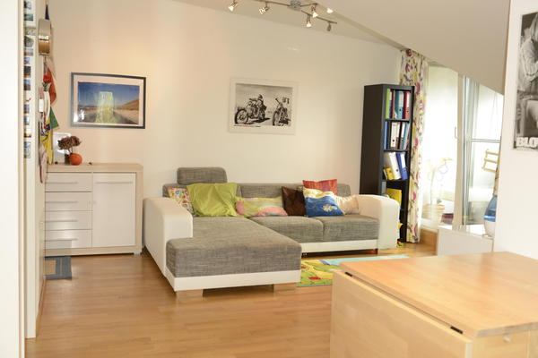 Schicke 2-ZI-Dachgeschoss-Wohnung in schöner Lage Hallein