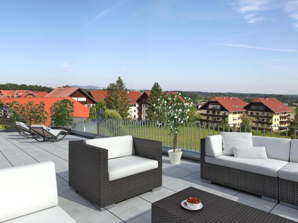VERKAUFT! Eugendorf - Sensationelles Penthouse in Premiumlage