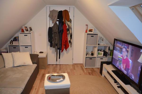 INNENANSICHTEN - kleines Wohnzimmer im DG
