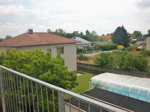 AUSSENANSICHTEN - Blick vom Balkon
