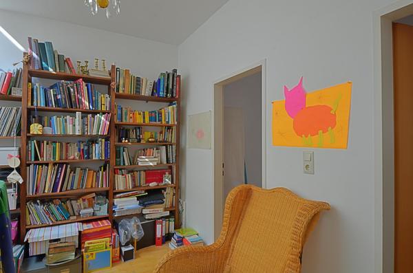 INNENANSICHTEN - Bücherecke