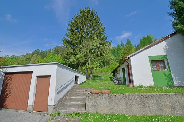 INNENANSICHTEN - Garage + Garten
