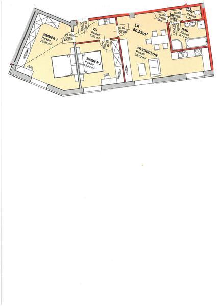 !!!Schöne Neu Sanierte Erstbezug 3 Zimmer Wohnung zu Verkaufen!!!
