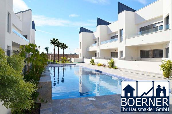 Moderne 3-Zimmer-Penthouse-Wohnungen mit Gemeinschaftspool nur 300 m vom Meer