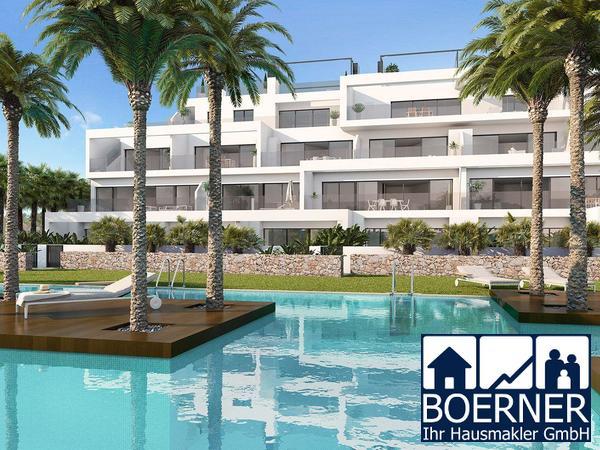 4-Zimmer-Luxuswohnungen mit Meerblick in exklusivem Golf Resort