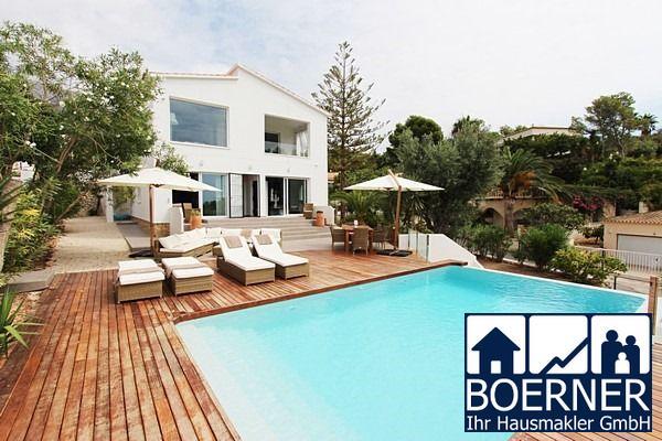 Neuwertige Villa im Raum Altea mit traumhaftem Meerblick