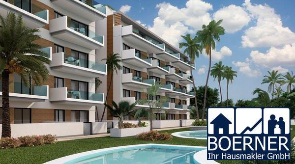 Komfortable 3-Zimmer-Wohnungen nur 300 m vom wunderschönen Sandstrand