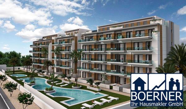 Komfortable 4-Zimmer-Wohnungen nur 300 m vom wunderschönen Sandstrand