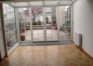 4 Zimmer Maisonette- Dachgeschosswohnung mit 45m² Terrasse, nahe der Staatsop...