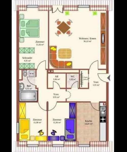 GRUNDRISS - Plan_Wohnung_NK