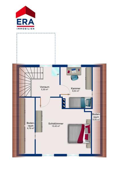 GRUNDRISS - Dachgeschoss
