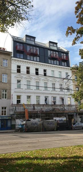 U6 Währinger Straße! - ERSTBEZUG - Sonnige 3-Zimmer Dachgeschoss-Wohnung