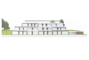 Baugrundstück mit Vorstudie bzw. Planung für 11 Wohnungen mit Garage!